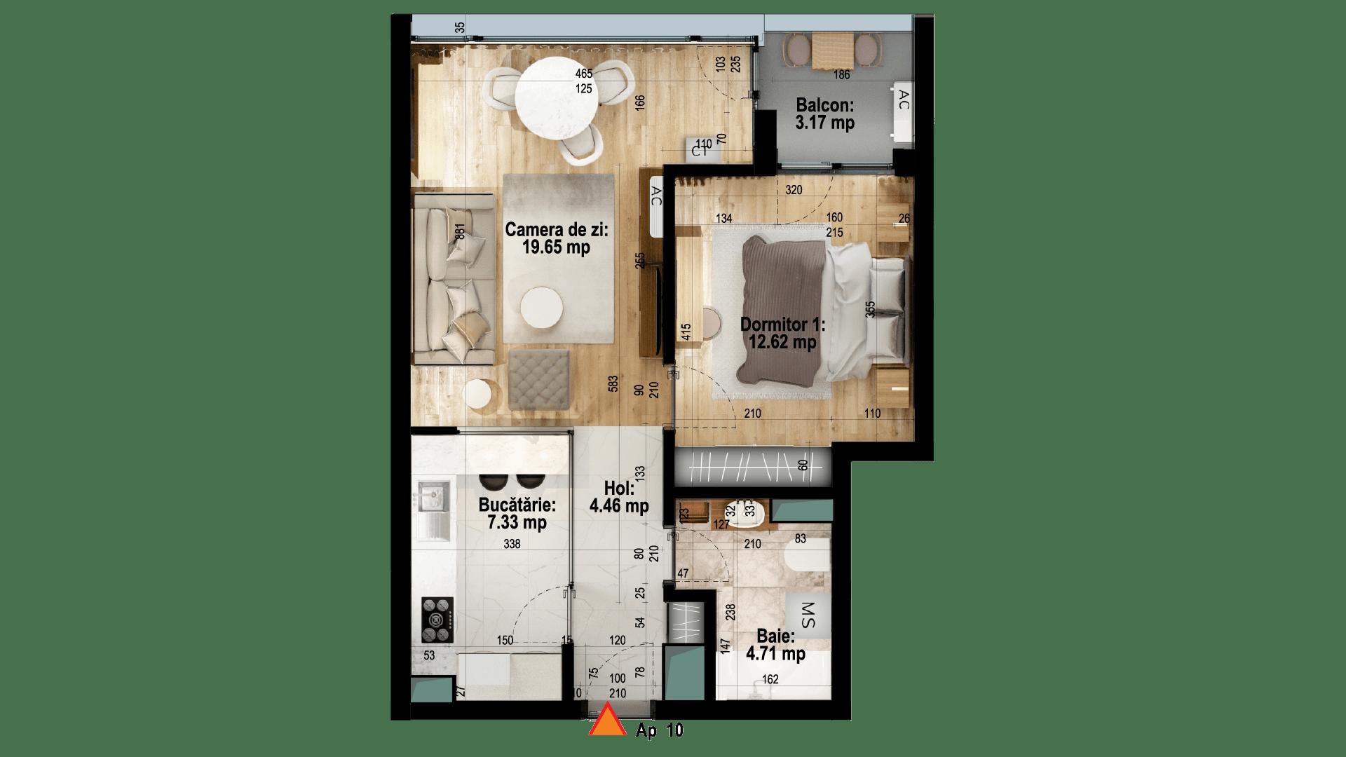 Apartament tip 10