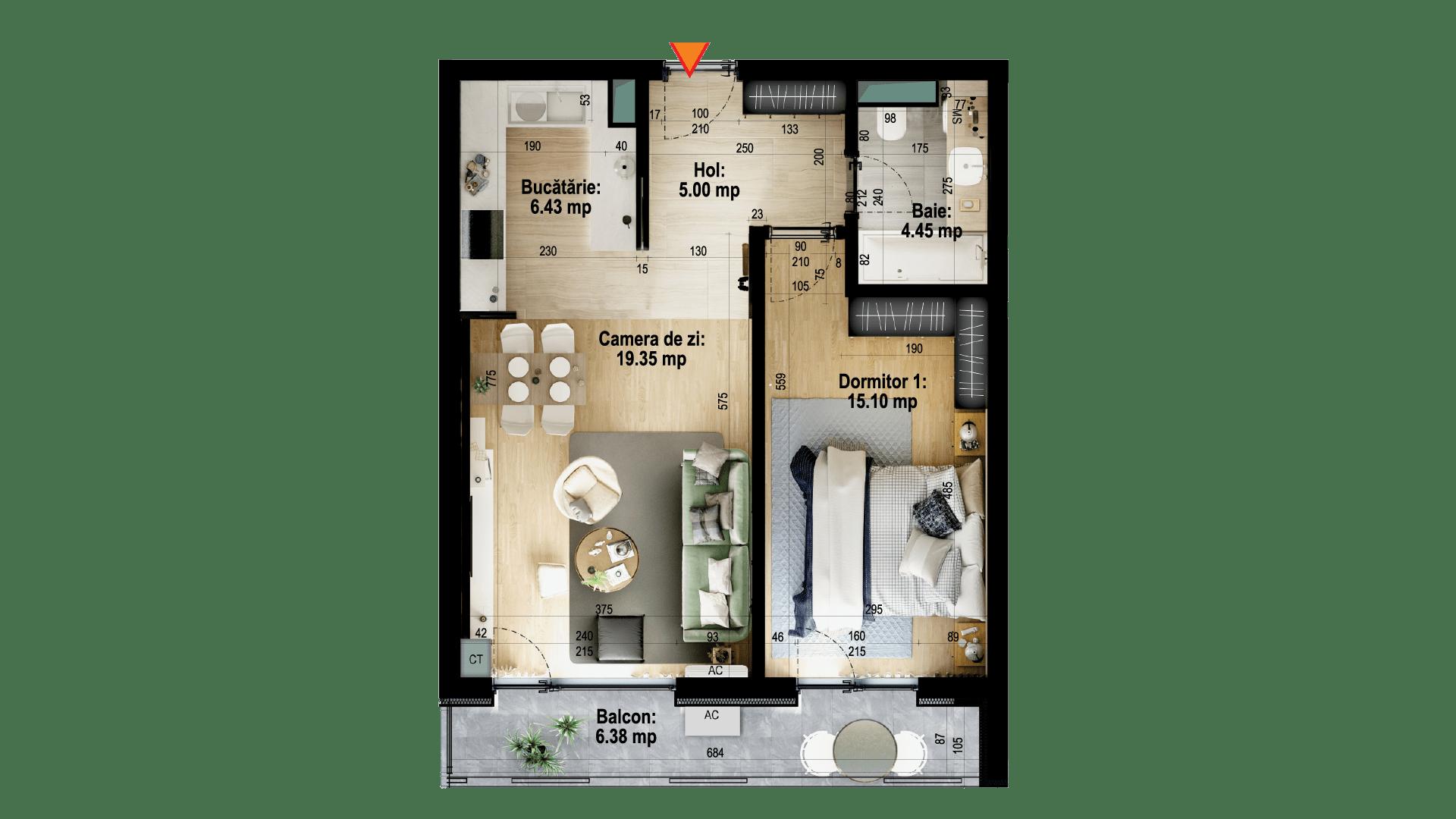 Apartament tip 4