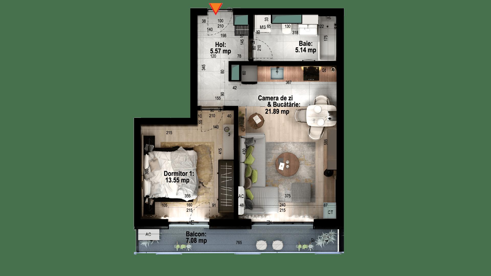 Apartament tip 5