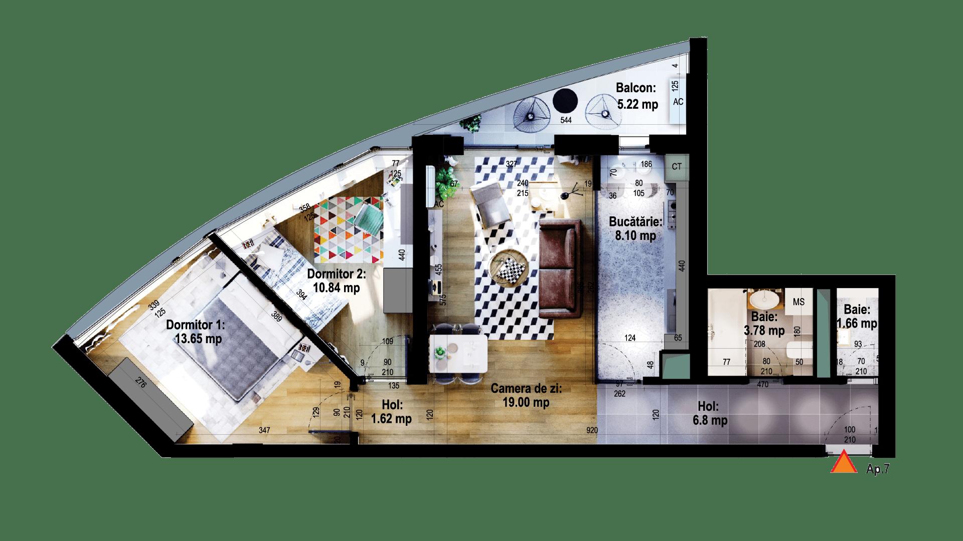 Apartament tip 7