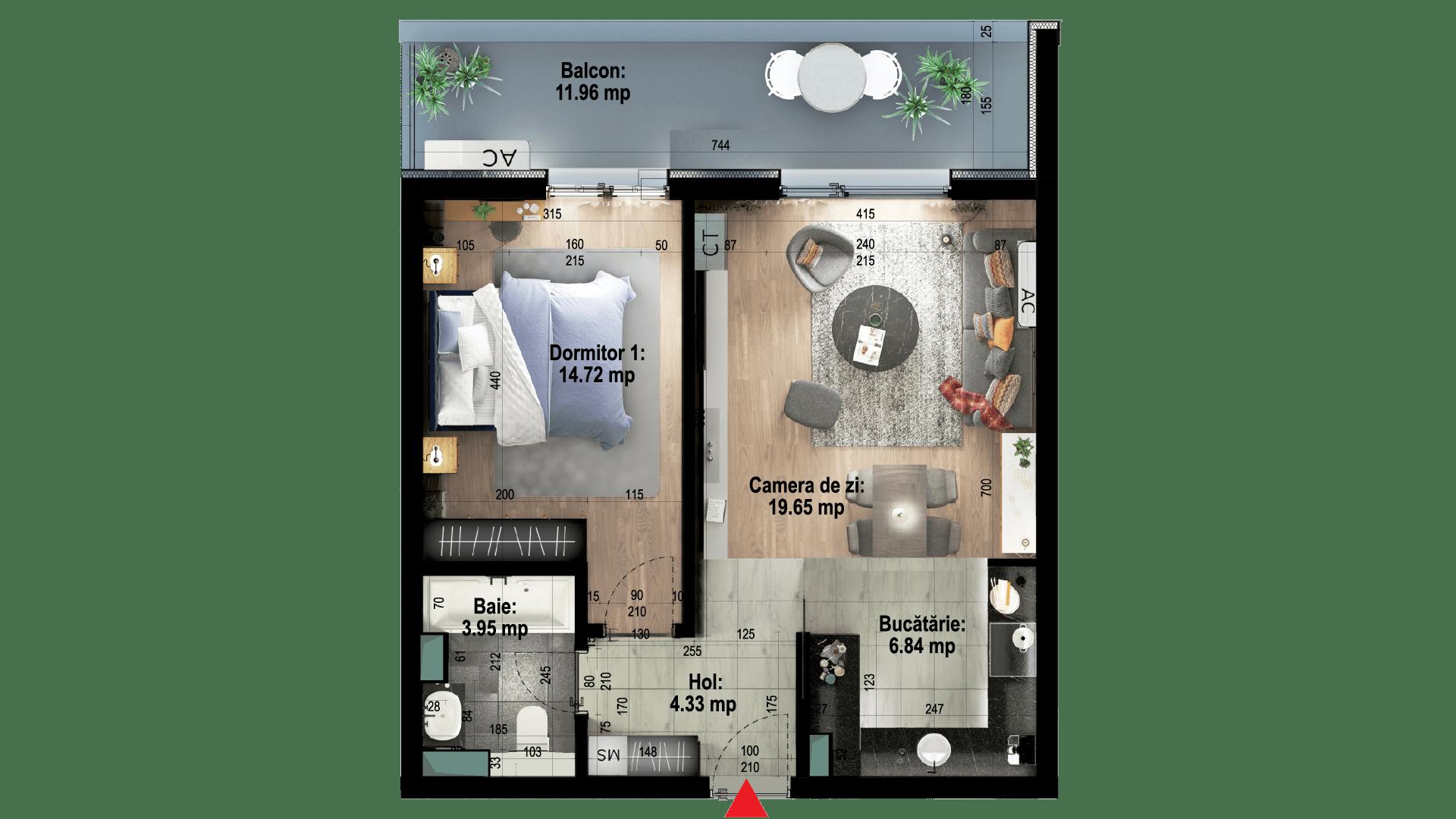 Apartament tip 9